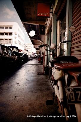 Mini Honda PC50 Port Louis Remy Ollier Street Mauritius
