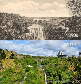 Moka Reduit Railway Bridge 1890s 2014