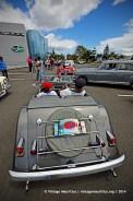 Morgan Back Classic Vintage Car Mauritius