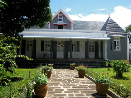 Old Colonial House St Georges Street Port Louis Mauritius