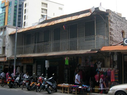 Old Port Louis - Desforges Street - Colonial Building