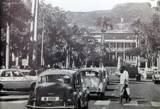 Place D'Armes - Port Louis - 1978