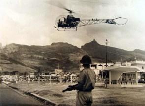 Plaine Verte - Rioting - 1968 (Courtesy: Mohammad Faiz)