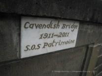 Plate of Commemoration SOS Patrimoine