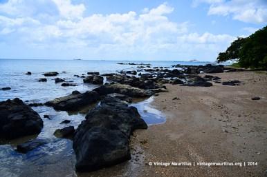 Pointe aux Sables Beach Rocks
