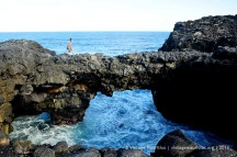 Pont Naturel - Mauritius - Tourists Enjoying - 2014