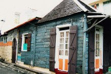 Port Louis - D'Entrecasteaux Street - Old Colonial Creole House