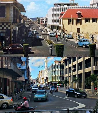 Port Louis - Desforges Street - 1970s/2013
