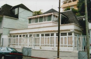 Port Louis - Eglise Street - Old Creole Colonial House