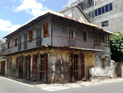 Port Louis - Corner La Paix & Sir Virgile Naz Street - Old Colonial Building