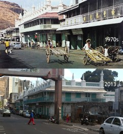 Port Louis - Royal Road - 1970s/2013