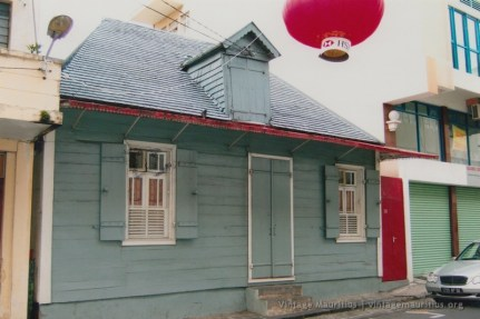 Port Louis - Rue Conde - Old Colonial Creole House