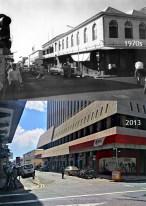 Port Louis - Sir William Newton Street - 1970s/2013