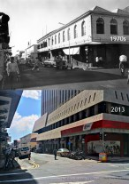 Port Louis - Sir William Newton Street - 1970s/2013