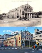 Port Louis - The Theatre - 1930s/2013