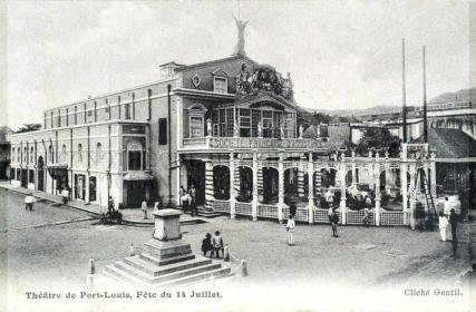 Port Louis Theatre - Pope Henessy Street - 1909