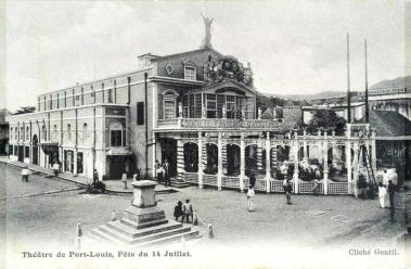 Port Louis Theatre - Pope Henessy Street - 1909