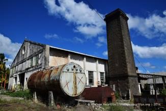 St Felix Old Sugar Mill Chimney