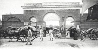 The Port Louis Central Market in the late 1870s