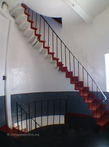 The Stairs leading to Level 2