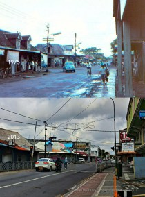 Vacoas Town Centre - Savoy Junction - 1970s/2013