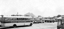Vacoas Transport Bus Stand 1970s