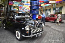 Vintage Valentine Morris Minor Black