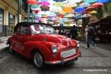 Vintage Valentine Morris Minor Red