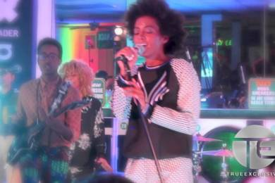 Solange Performs A Concert…In A Laundromat