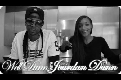 2 Chainz Makes Beer-Steamed Crab Legs With Jourdan Dunn