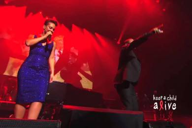 Alicia Keys Blurs Lines & Gets Lucky With Pharrell