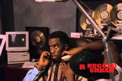 Unreleased Footage Of Diddy In His Office In The 90′s