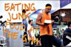 Dude Eats Junk Food While Working Out At Gym