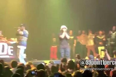 ScHoolboy Q & Ab-Soul Premiere New Track At L.A. Concert