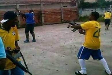 Brazilian Soccer Fans Celebrate Goal By Firing Ak-47′s Into The Air