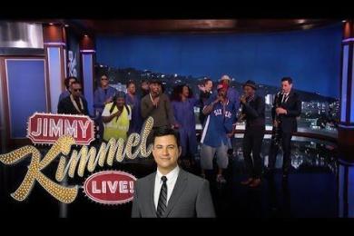 The Amazing Jam Session Guys Show Up On Jimmy Kimmel With Trey Songz, Juicy J & Aloe Blacc