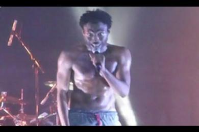 Childish Gambino Live Freestyle Calling Out Drake & Kendrick Lamar