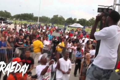"Trae Tha Truth ""Trae Day"" Event For The Kids Of Houston"