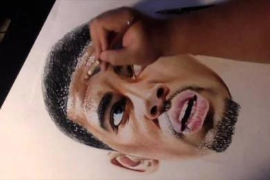 Young Artist Draws An Amazing Portrait Of Cleveland Cavalier Star Kyrie Irving