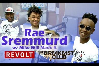 Rae Sremmurd & Mike Will Made it with The Breakfast Club Power 105.1
