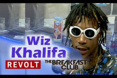 Wiz Khalifa Interview With The Breakfast Club