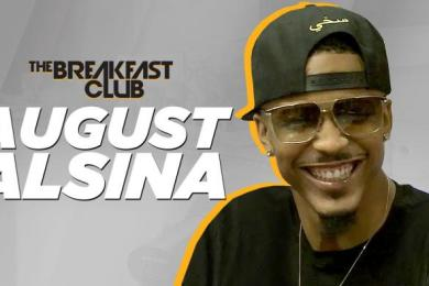August Alsina Interview With The Breakfast Club