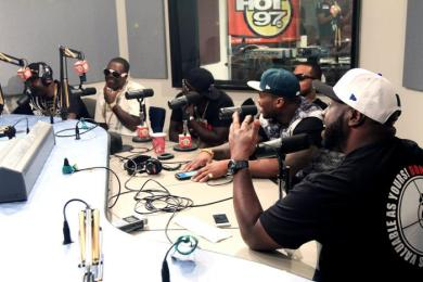 G-Unit Funk Flex Freestyle On Hot 97