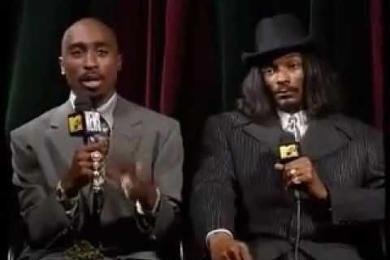2Pac And Snoop Dogg 1996 MTV Interview (3 Days Before Tupac's Death)