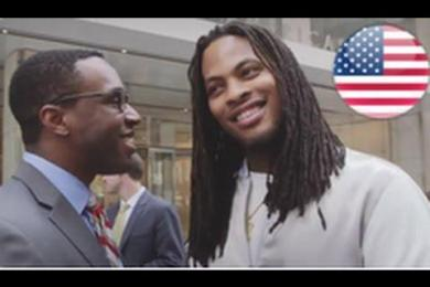 Waka Flocka Hits The Campaign Trail