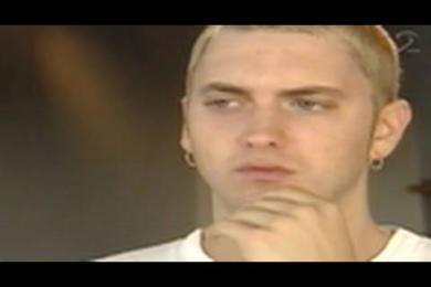Slim Shady/Eminem Keeps It Real During Swedish TV Interview (Rewind Clip)