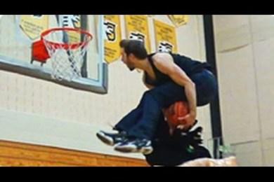 6'1″ Baller Jordan Kilganon Does All Of Aaron Gordon's Dunks With Jeans On