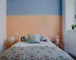 Pintura de interior de habitación