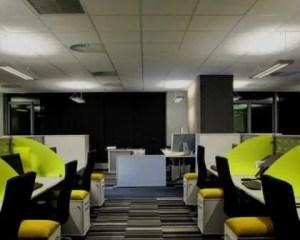 Reforma de oficina para muchos trabajadores