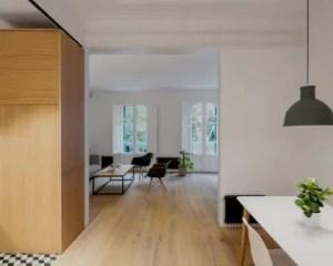 Reforma de piso salón